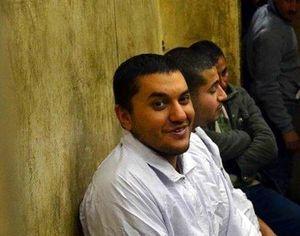 Omar Hazek im Hochsicherheitsgefängnis Alexandria. Foto: PEN Austria.