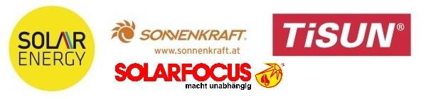 Logos Lieferanten Solaranlagen bei Markus Bayer GmbH Insallationen