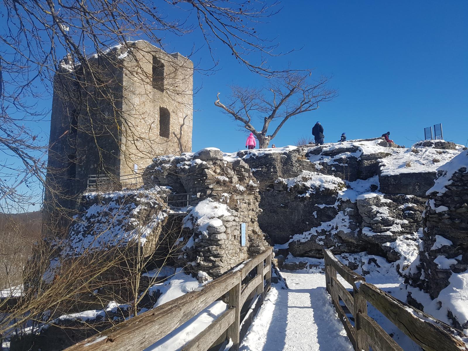 Auf dem winterlichen Wiesenttal-Trail