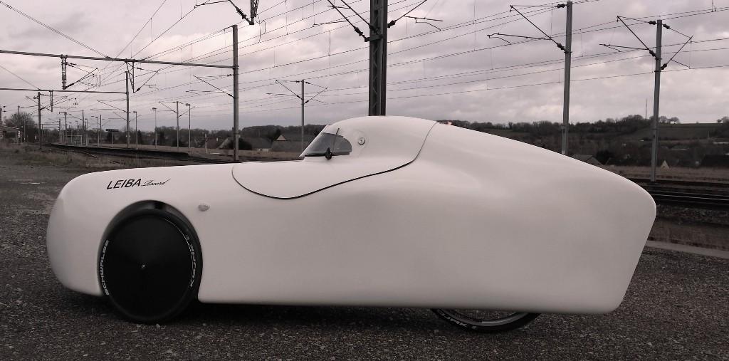 Le Leiba Record (1èr modèle carbone) de Sébastien