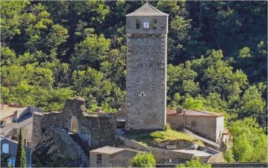 Le château de Lespinassière