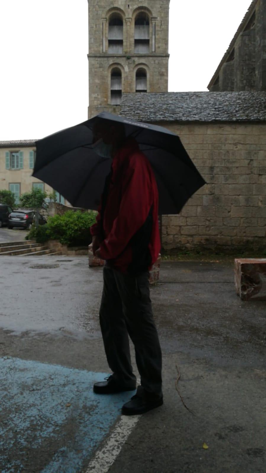 Il a plu!
