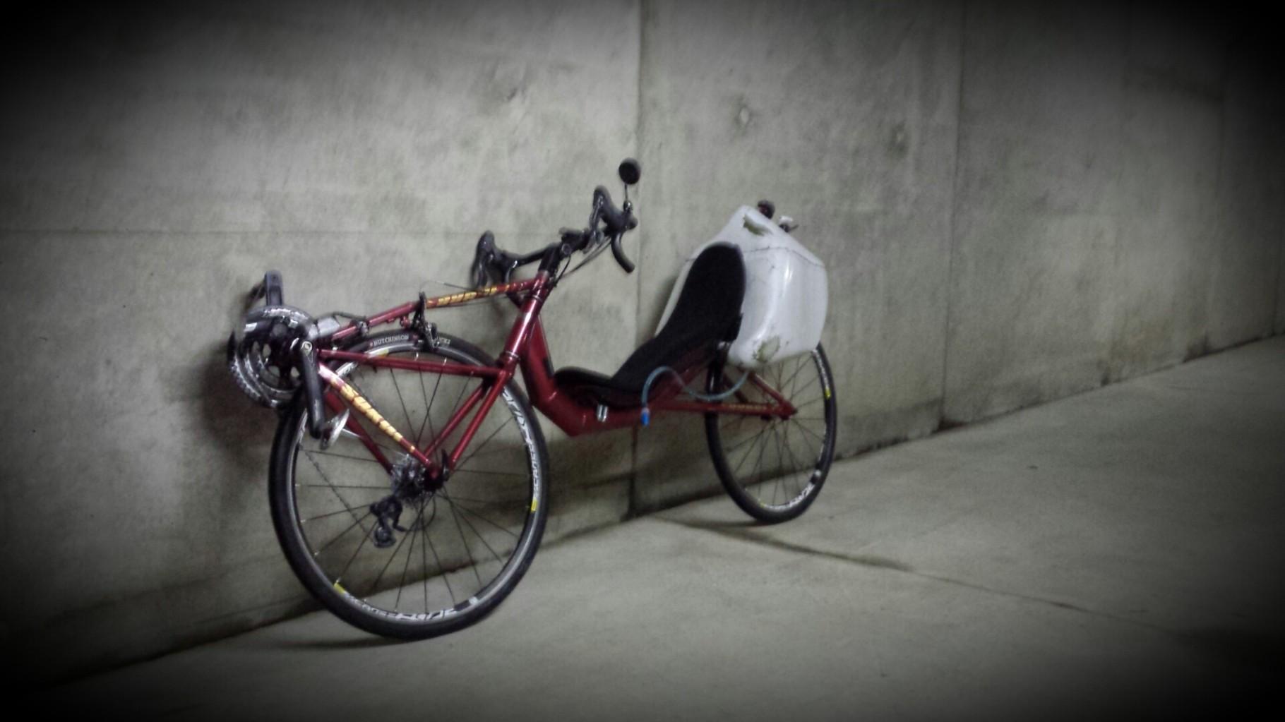 Le Sokol d'Annabelle en mode vélotaf