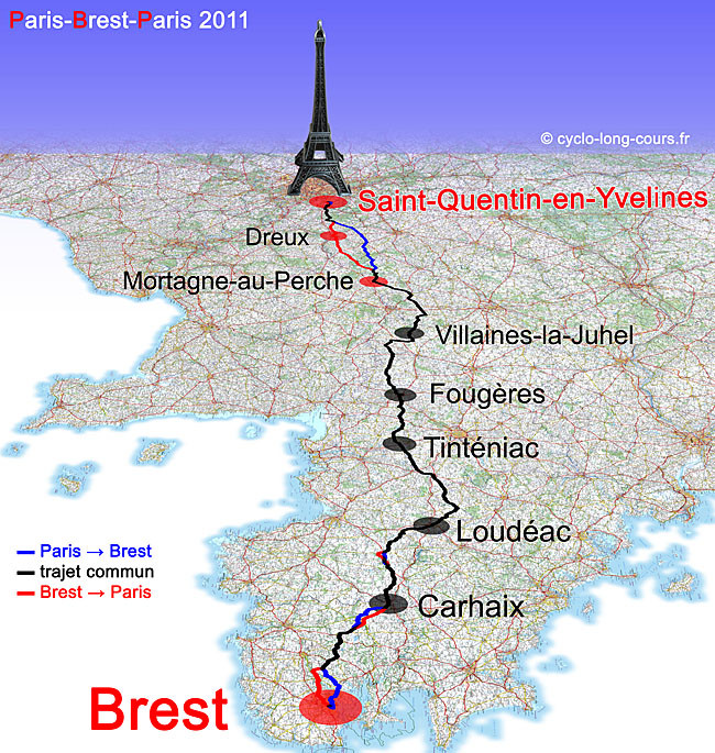 Une belle carte de 2011 que vous retrouverez sur le superbe site http://cyclo-long-cours.fr/