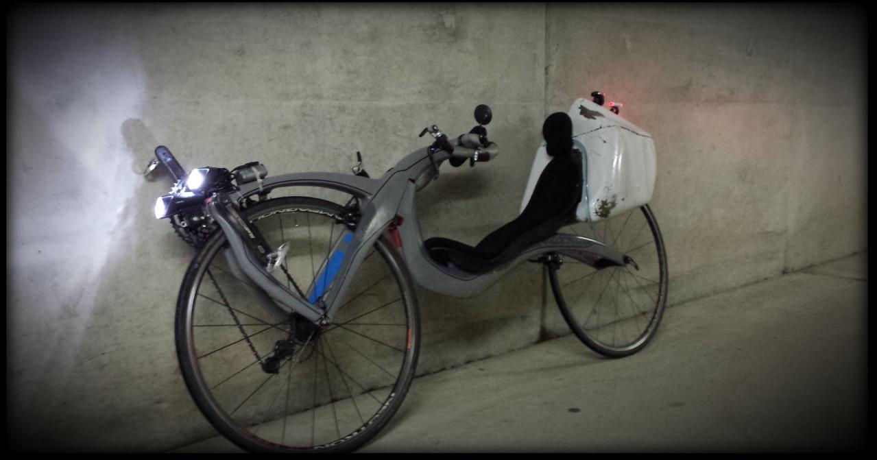 En mode Vélotaf avec coffre vk2