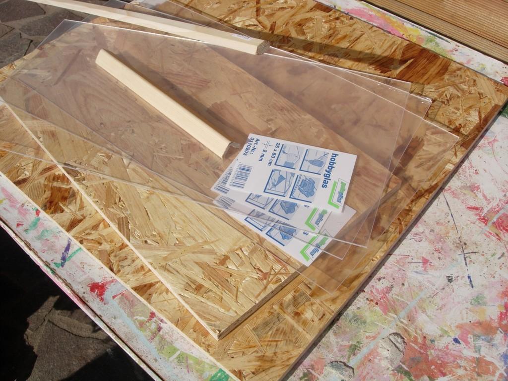 Altes holz farbkasten for Schaukelstuhl zu verschenken