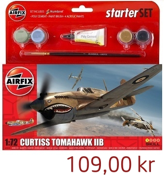 Airfix Curtiss Tomahawk IIB Starterset