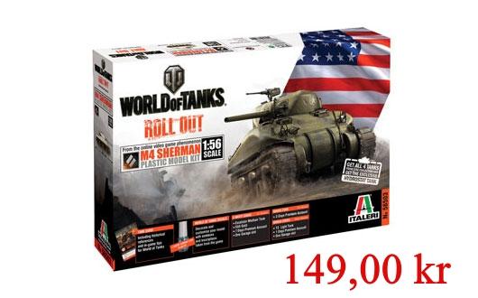 Italeri Sherman world of Tanks