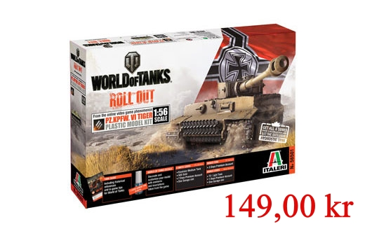 Italeri Tiger I World of Tanks