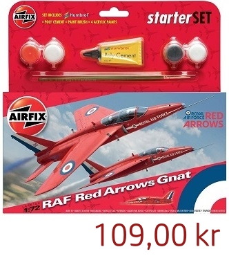 Airfix RAF Red Arrows Starterset