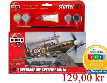 Airfix Starterset Supermarine Spitfire Mk1a