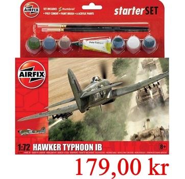 Airfix Starterset Hawker Typhoon