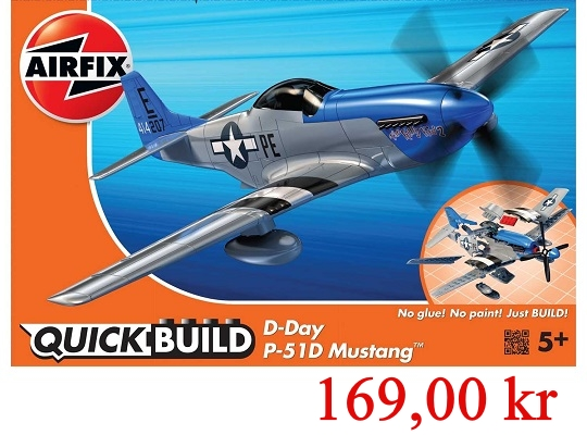 Airfix Quick Build Mustang P51