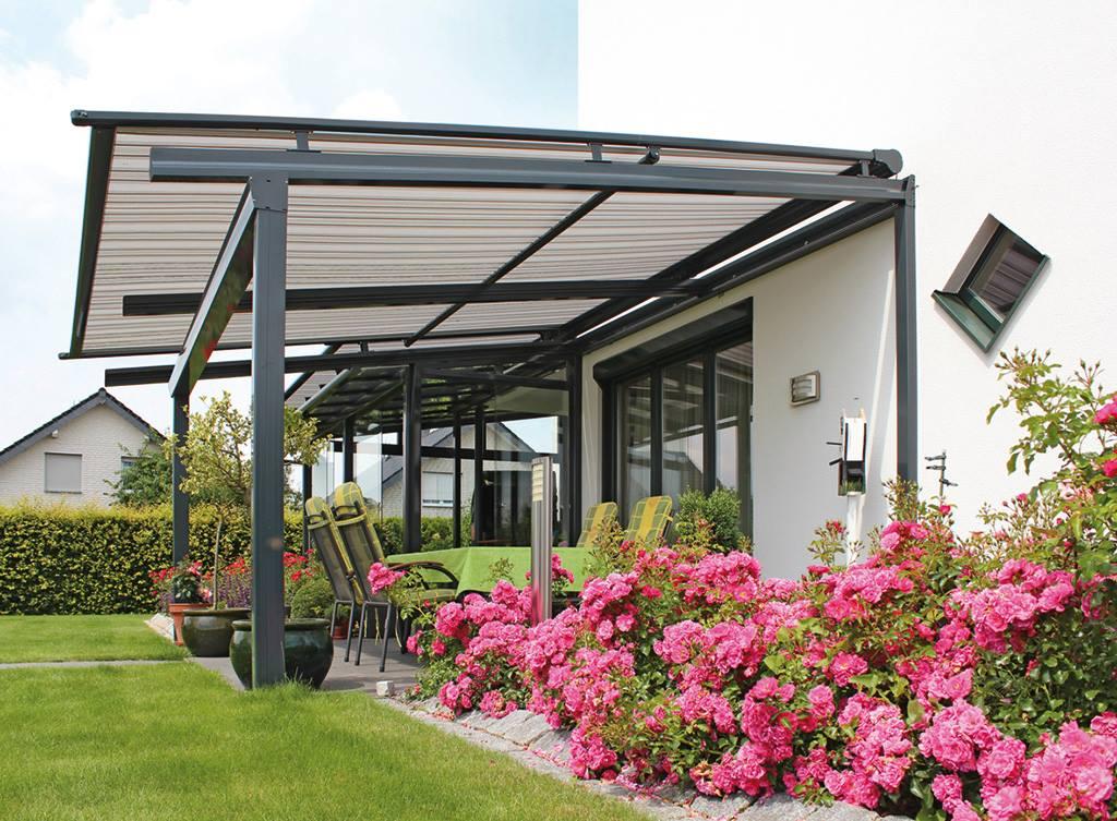 Terrassendach mit Beschattung WGB Plus