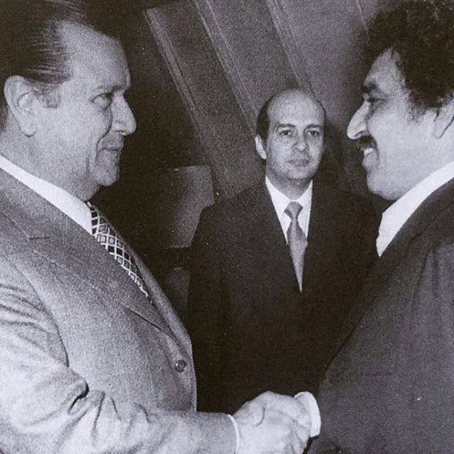 Rafael Caldera Luis Alberto Machado Gabriel García Márquez