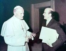 Juna Pablo II Luis Alberto Machado