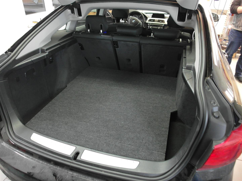 BMW 3er GT (F34) - mit Abdeckung
