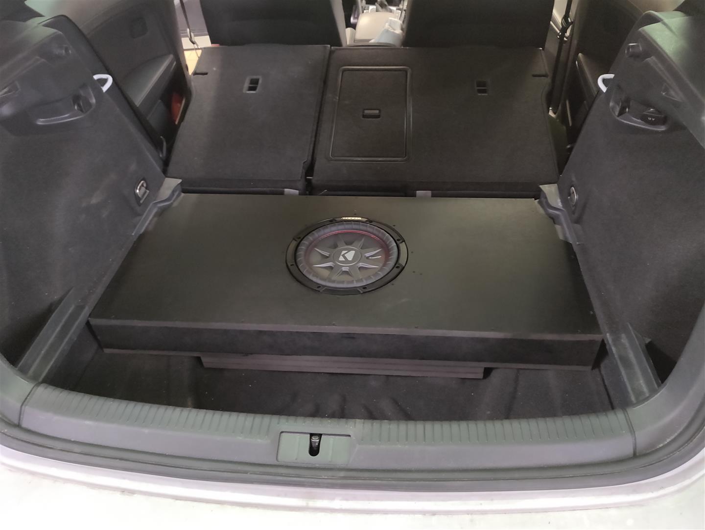 VW Golf 7 R - ohne Abdeckung