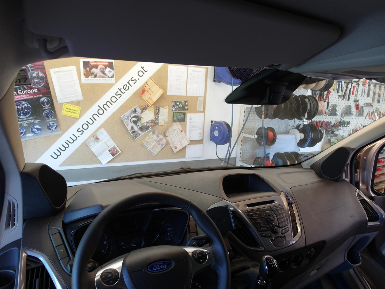 Ford Tourneo - Mittel-Hochton-Paneele