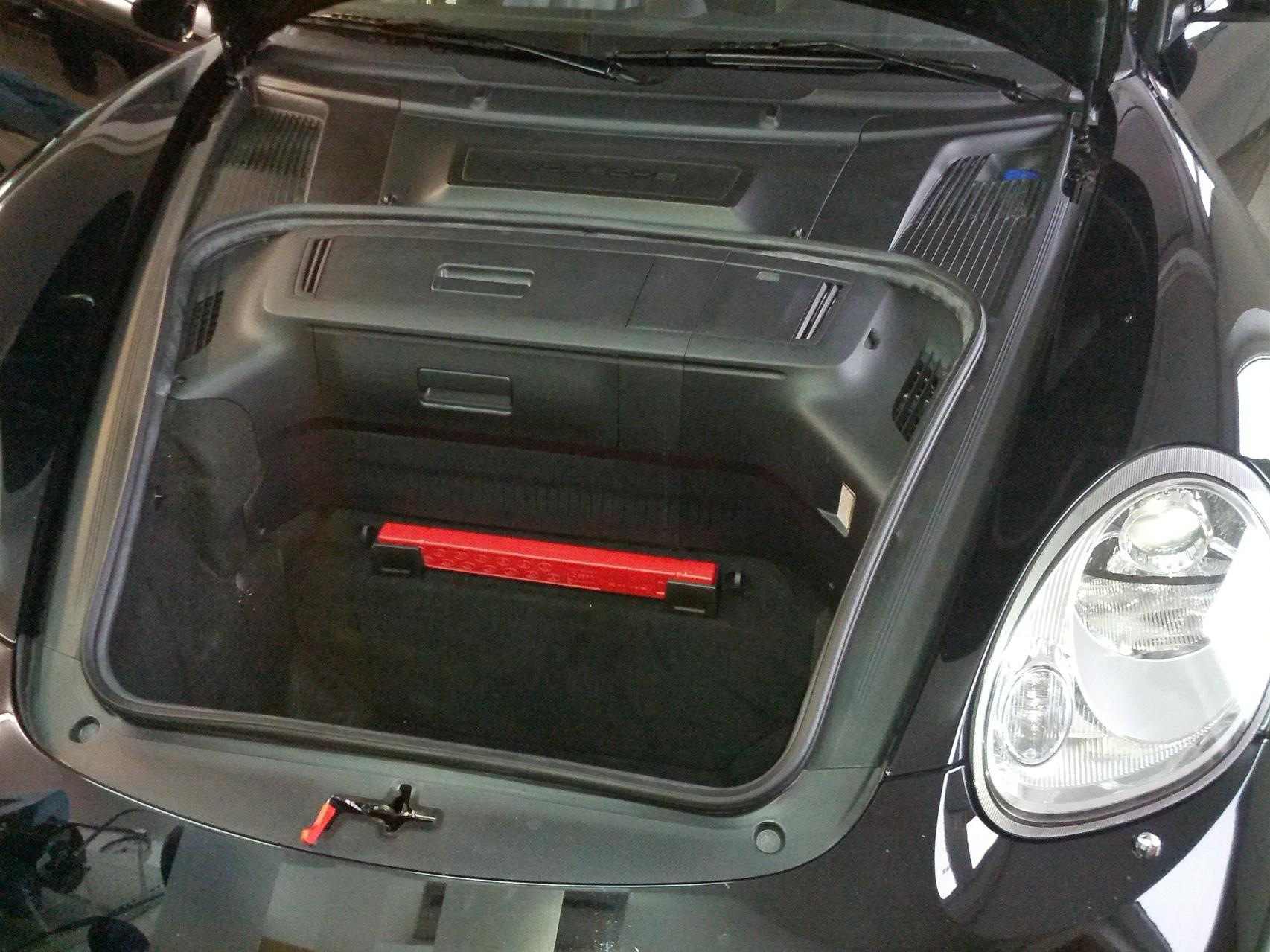Porsche Cayman S - mit Abdeckung