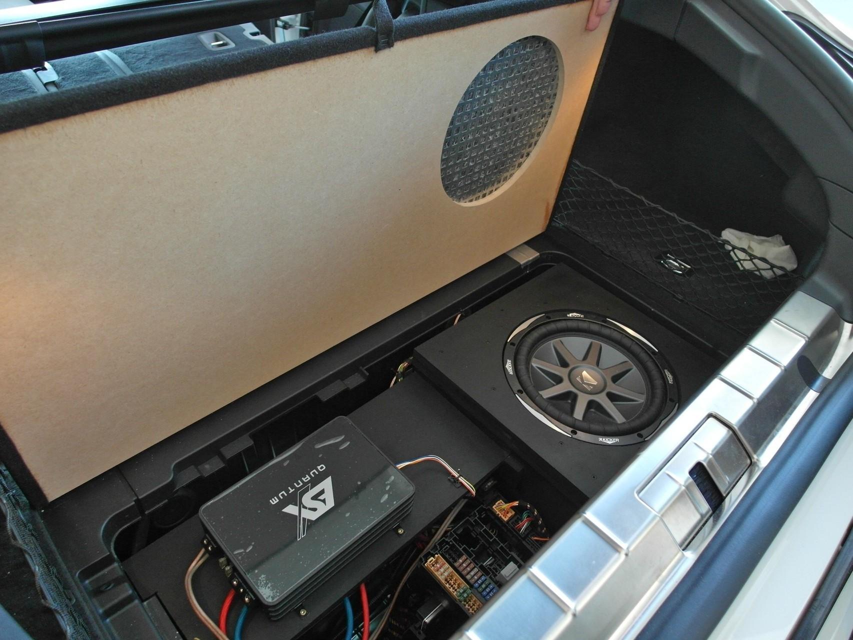 Porsche Panamera - ohne Abdeckung