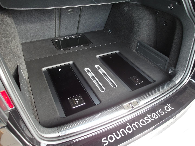 VW Passat (3C) - Reserveradverbau