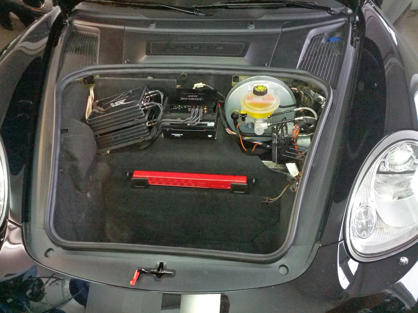 Porsche Cayman S - ohne Abdeckung