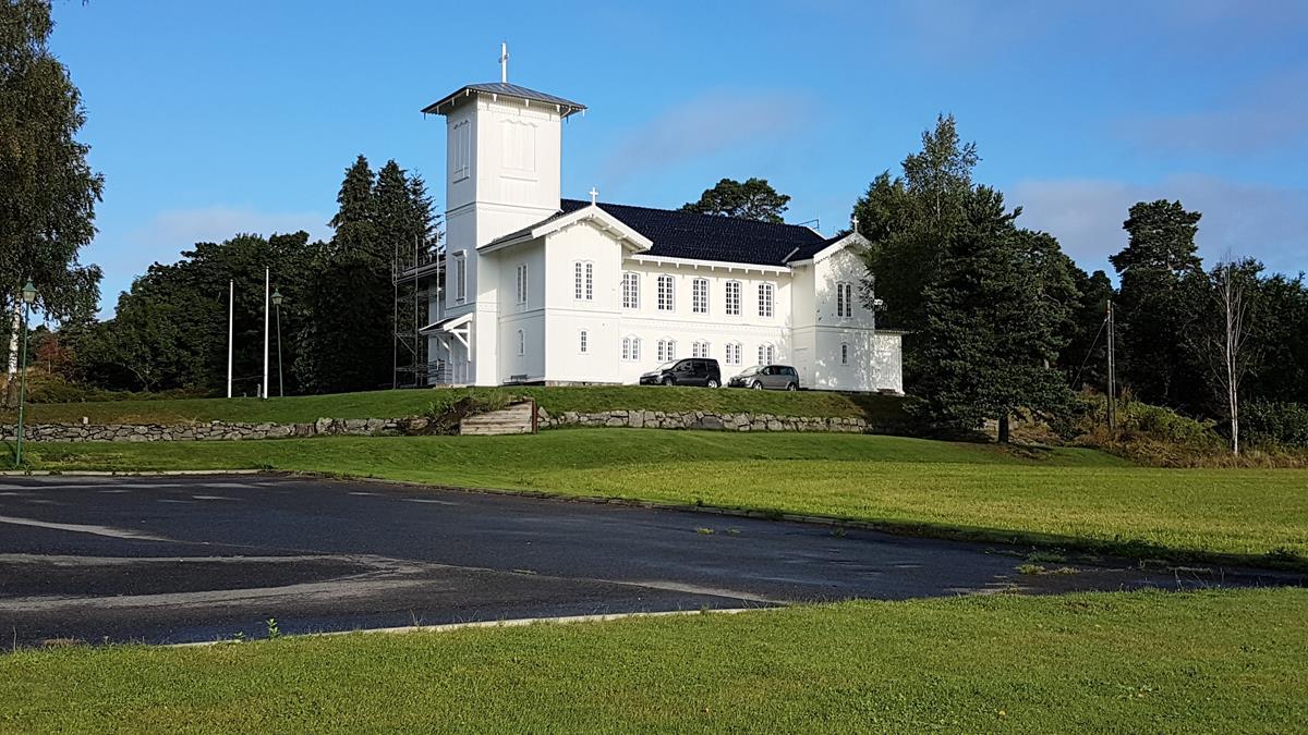 Holzkirche Grimstad