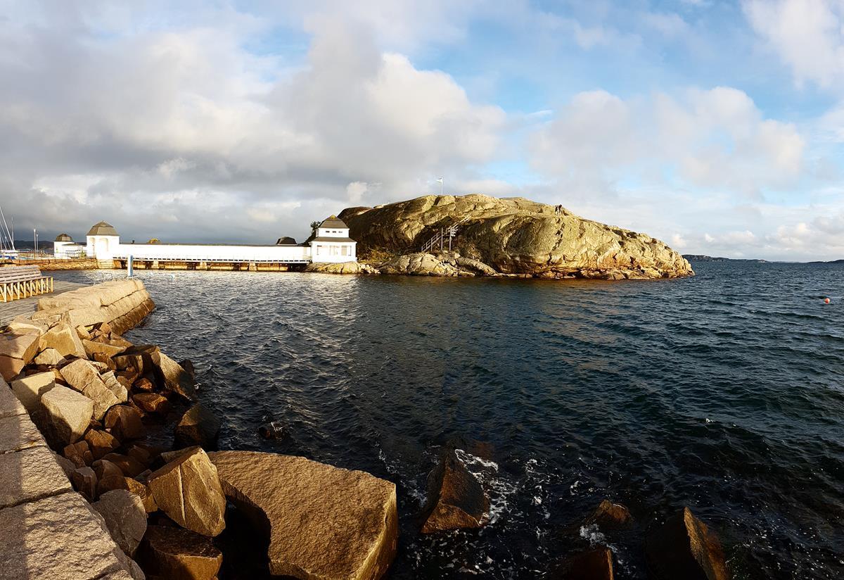 Badeanstalt in Lysekil