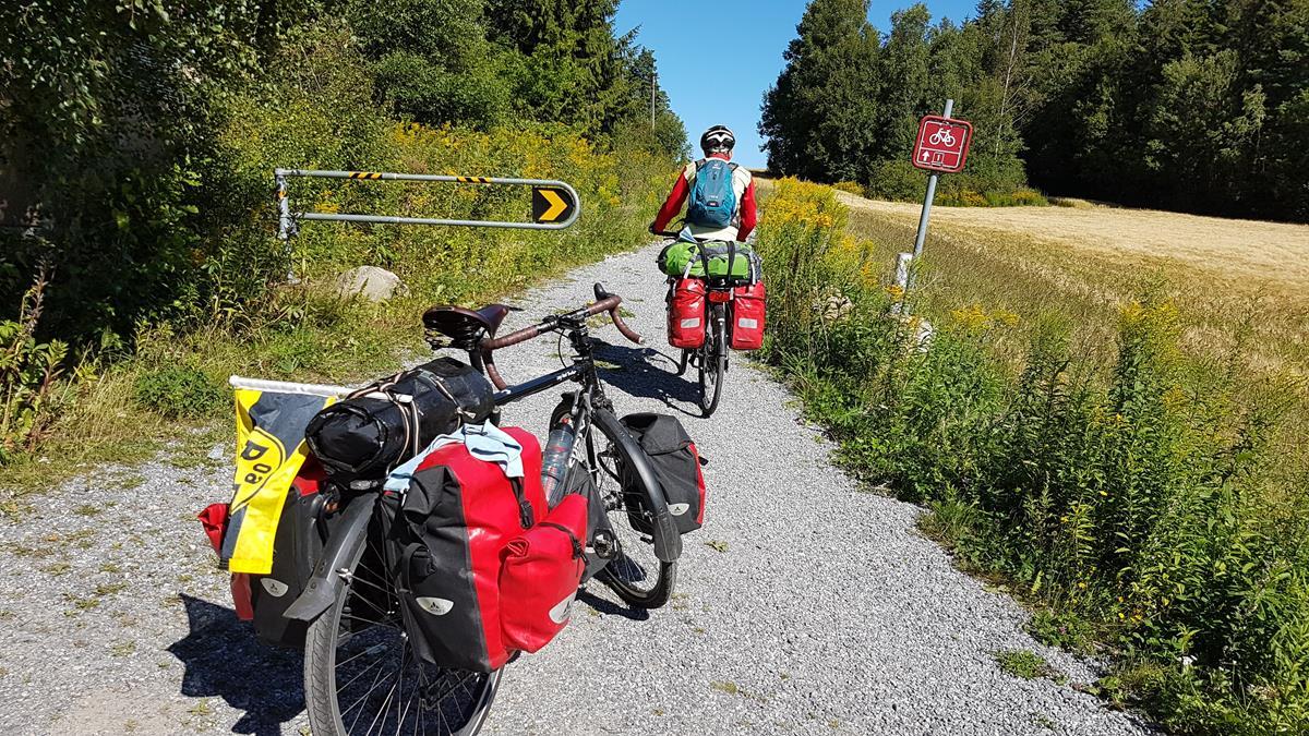 Norwegischer Schotterweg