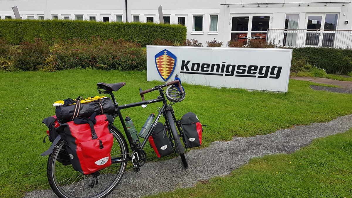 Besuch bei Koenigsegg