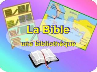 La Bible une bibliothèque