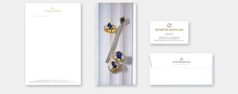 Scheffel Schmuck, Juwelier Geschäftsausstattung