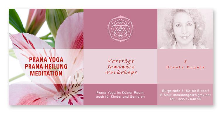 Anzeige Yoga + Heilung