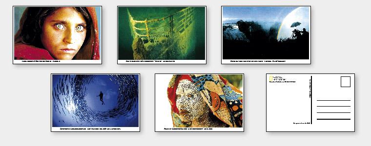 National Geographic, Postkarten Set