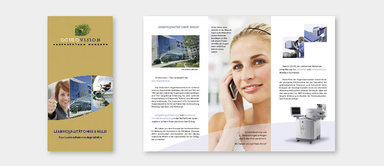 OculoVision, Info-Flyer