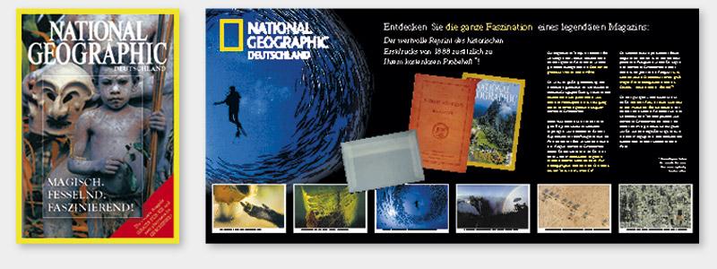 National Geographic, Zeitungsbeilage