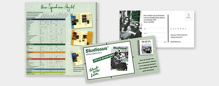Studiosus, Mailing
