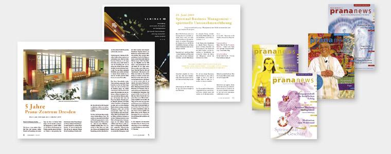 Magazin, Konzept und Gestaltung