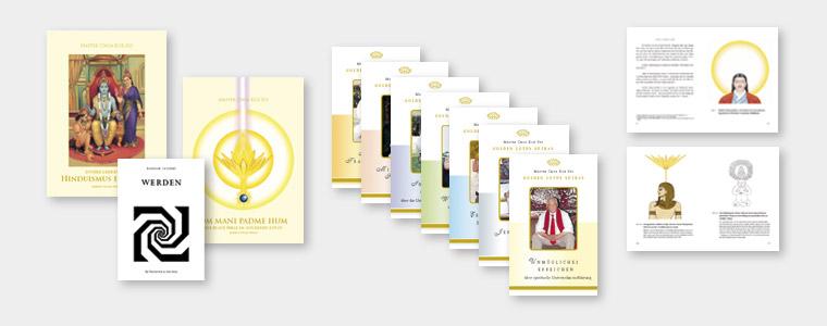 Bücher, Cover- und Innengestaltung