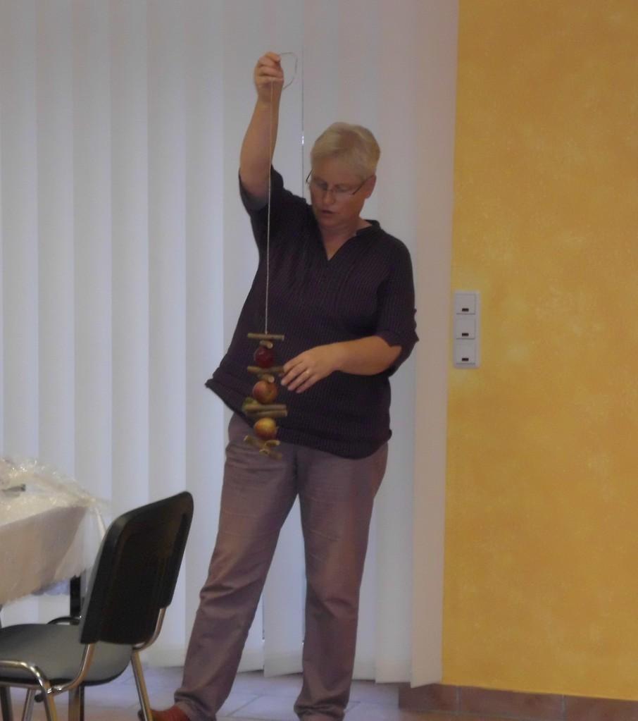 Frau Budde stellte uns auch ihr Programm für den Herbst vor.