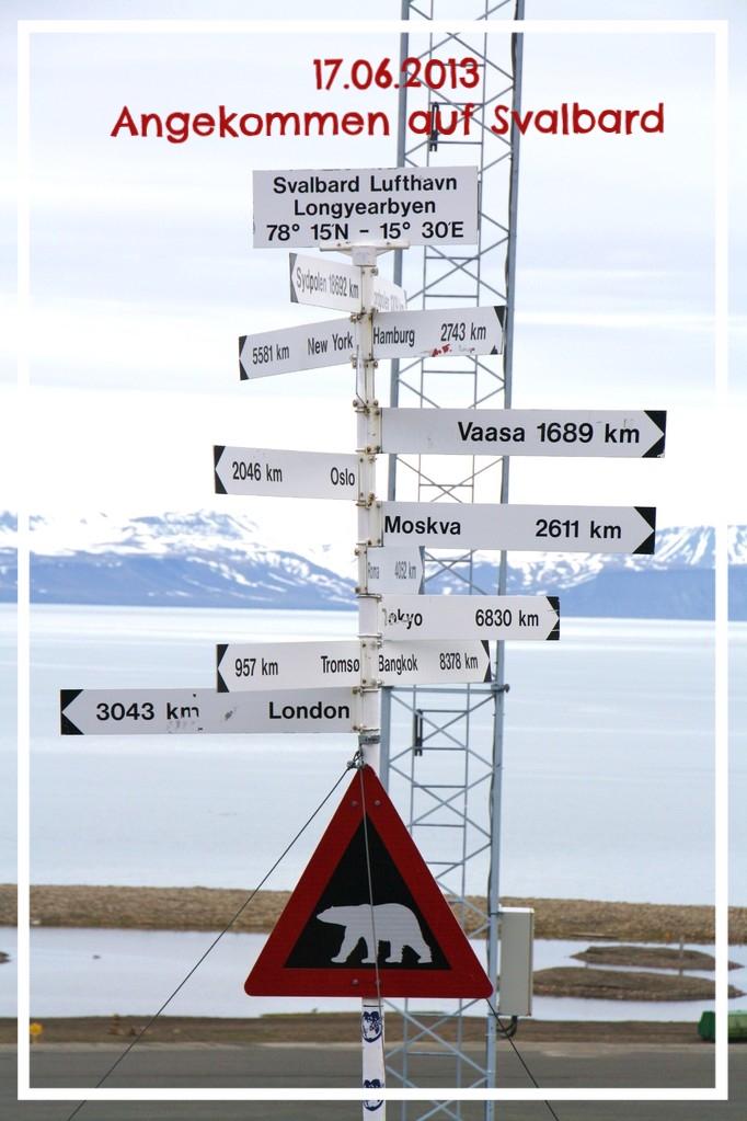 Angekommen auf Svalbardl