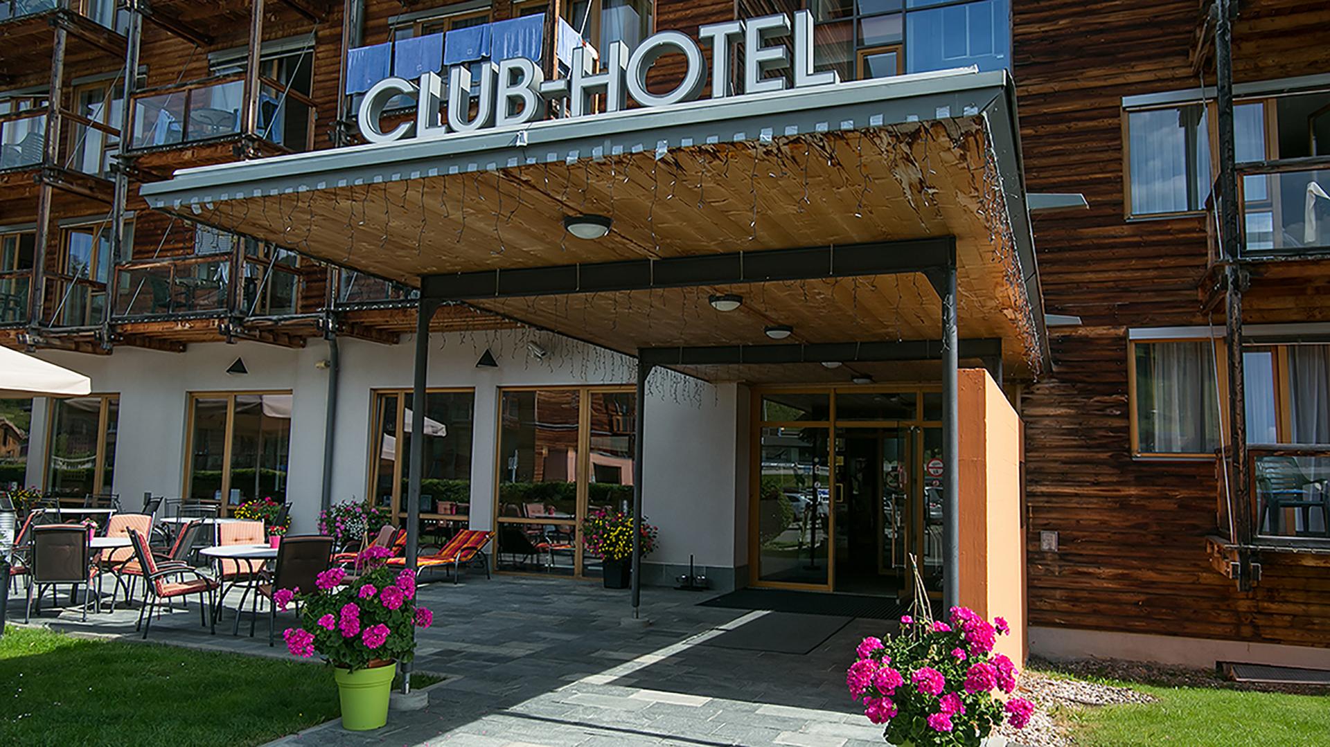 Das Clubhotel Kreischberg liegt...