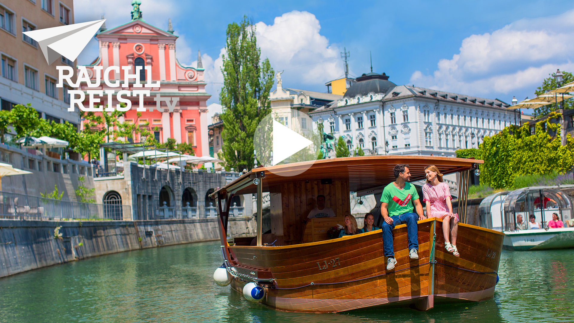 Slowenien: Grüne Hauptstadt Ljubljana