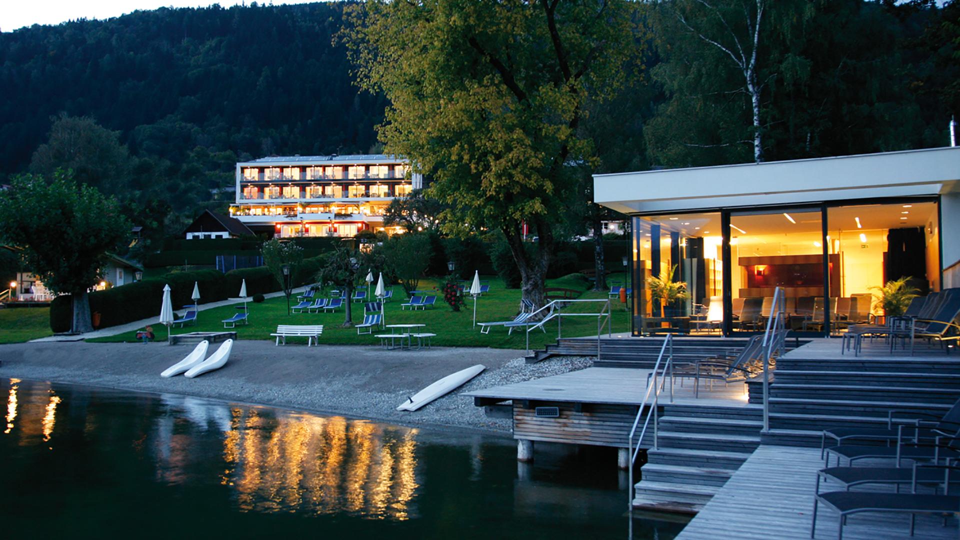 Weitere Infos über das Hotel: www.seehotel-hoffmann.at