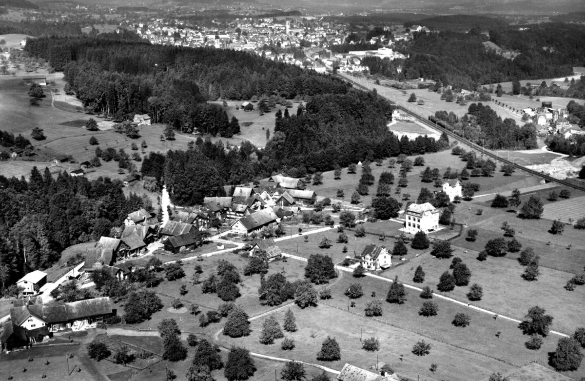 Ansichtskarte Foto Gross © Archiv-Ortsmuseum Lindengut Flawil