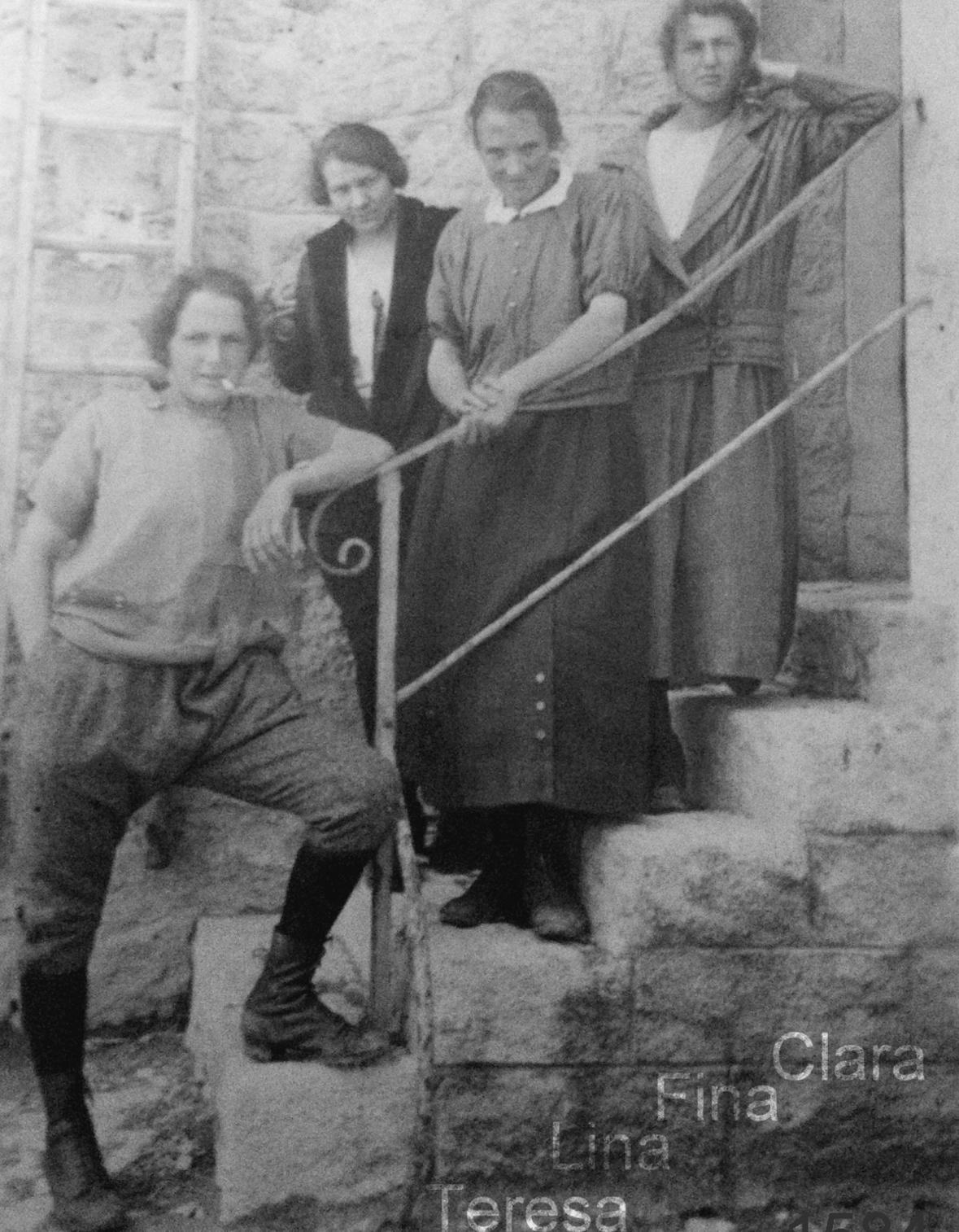 Die vier Damen vom Anstock