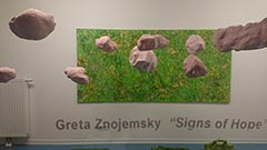 "Greta Znojemsky ""Signs of Hope"""