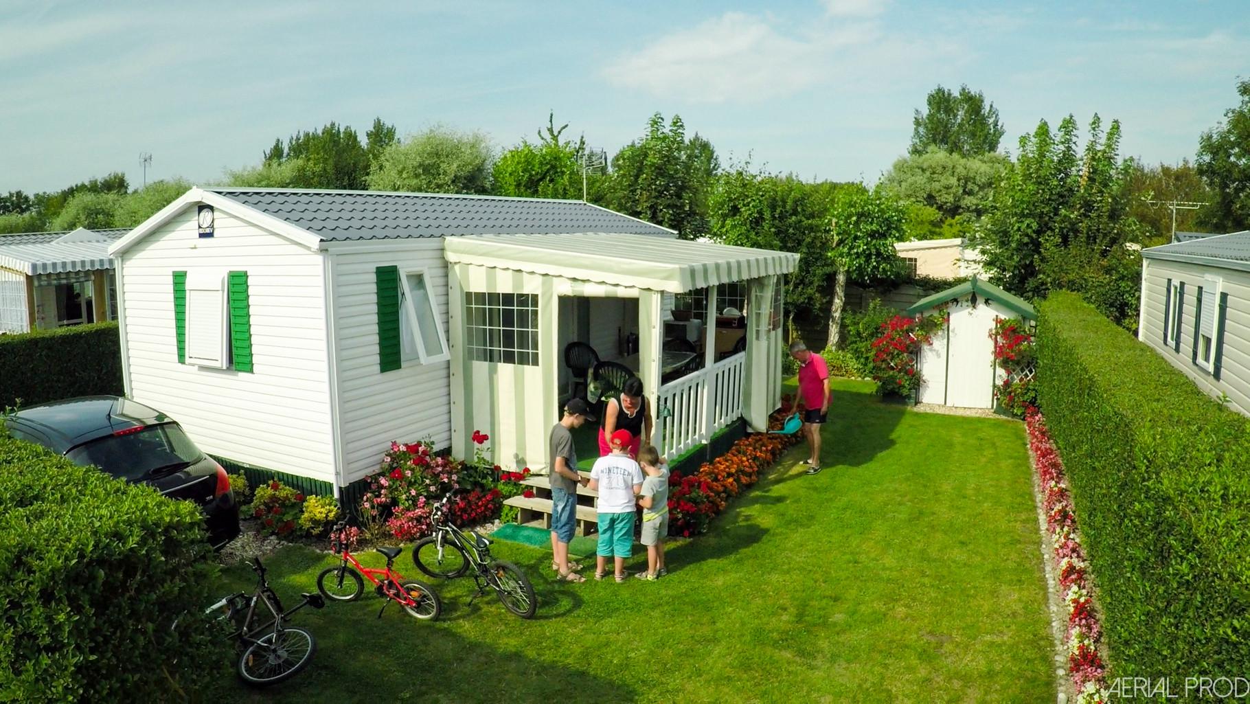 camping résidentiel en baie de somme