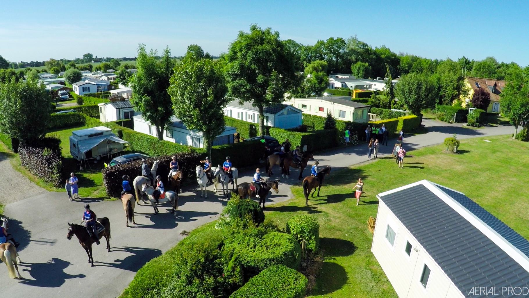 accueil de chevaux et cavaliers en Picardie
